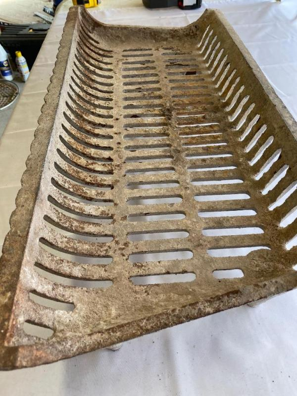"Fireplace Grate with Blower Elegant Fireplace Grate 27"" 12"""