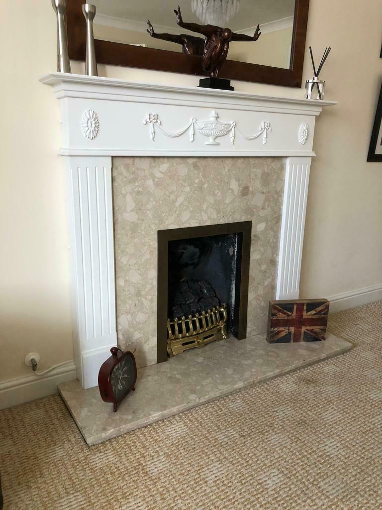 Fireplace Grate with Blower Elegant Fireplace Surround In Barry Vale Of Glamorgan