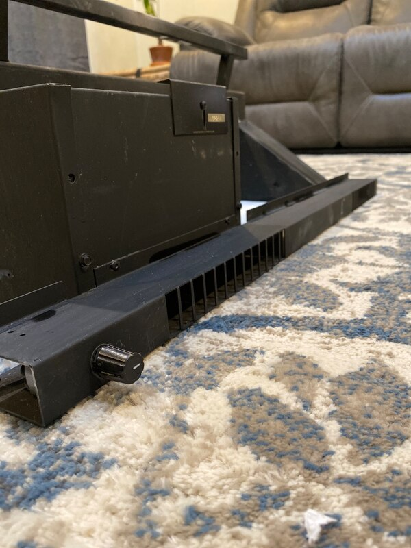 Fireplace Grate with Blower New Fireplace Wood Burning 40 000 Btu's Grate Heater Blower Medium Unit Gh2220lh Pre Owned