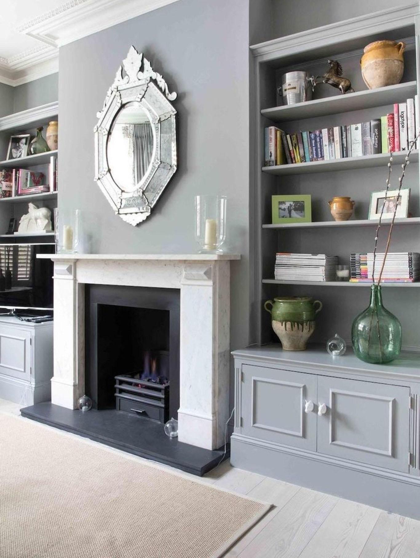 Fireplace Wall Unit Beautiful Traditional Alcove Units