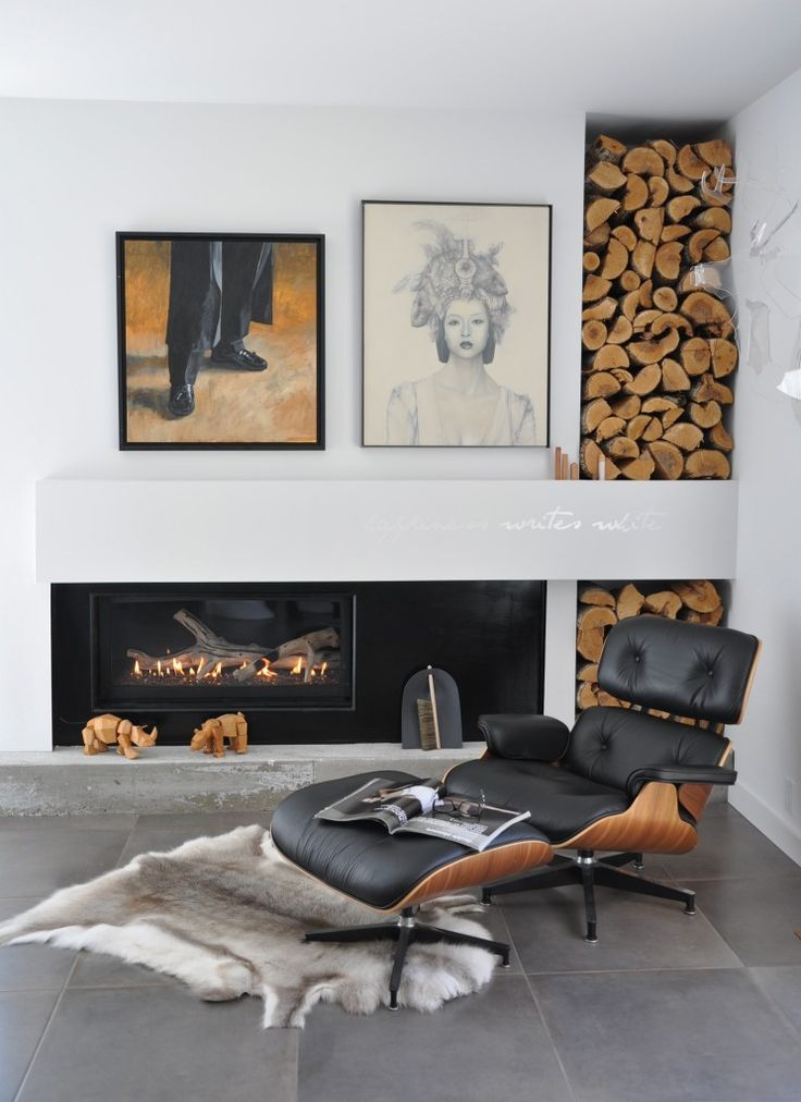 Fireplace Wall Unit Best Of 25 Cool Firewood Storage Designs for Modern Homes