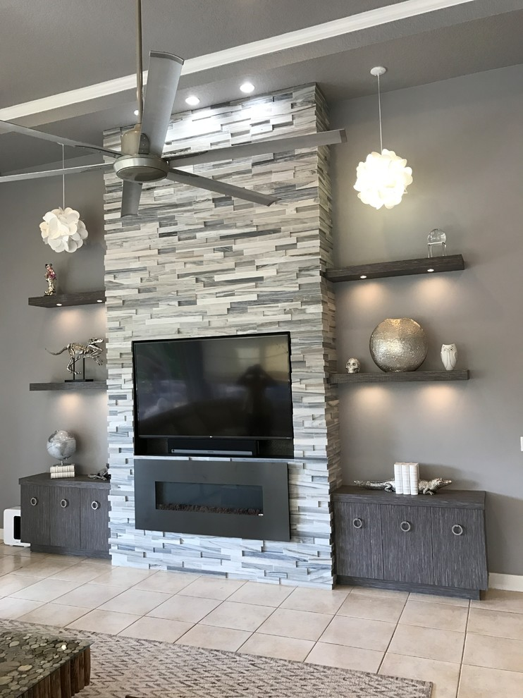 Fireplace Wall Unit Best Of Contemporary Media Unit with Fireplace Contemporary