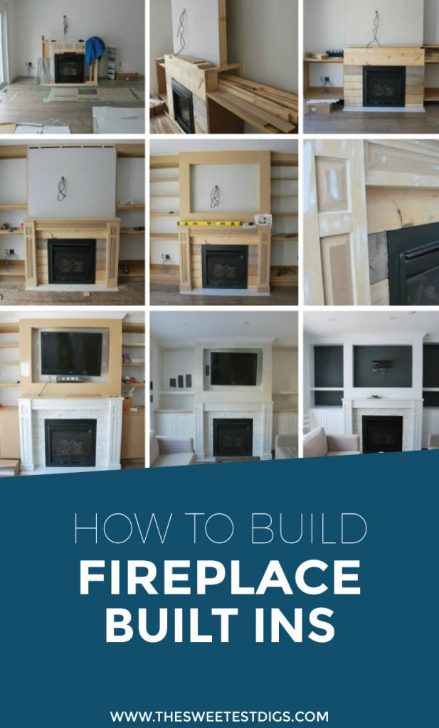 fireplace built ins