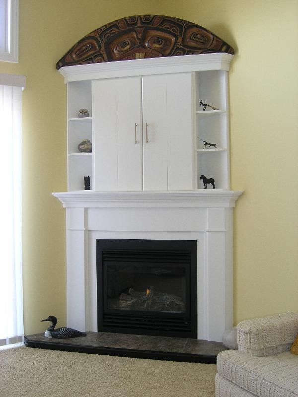 Fireplace Wall Unit Elegant Wood Duck Manufacturing Beam Mantel Gallery