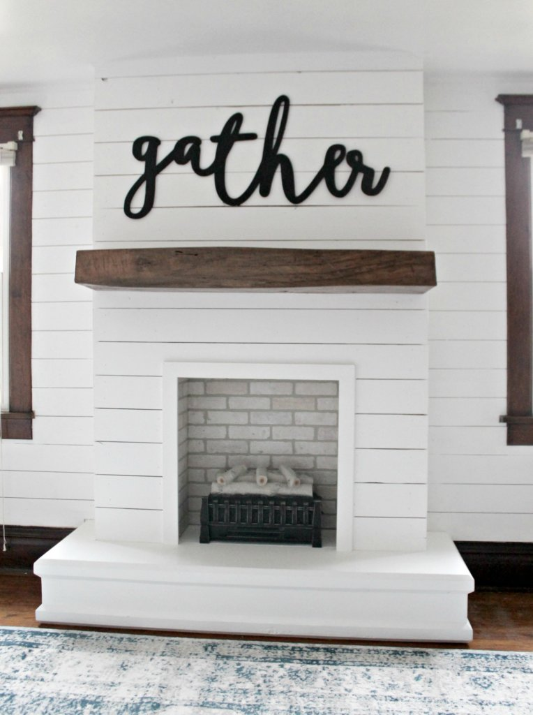 Fireplace Wall Unit Lovely Diy Shiplap Fireplace the Definery Co