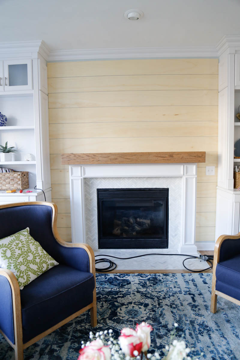 Fireplace Wall Unit Lovely Easy and Inexpensive Shiplap Fireplace Wall Sand and Sisal