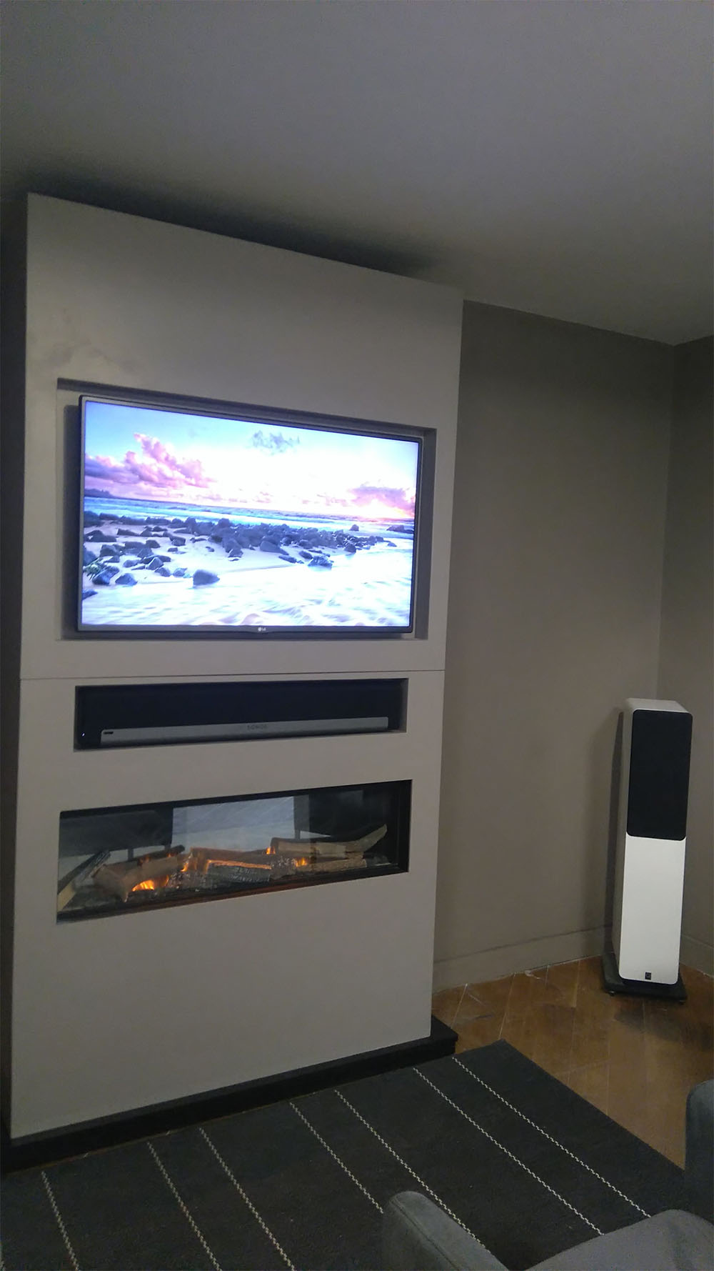 Fireplace Wall Unit Lovely Modular Wall Unit for Tv Fireplace soundbar Thornwood