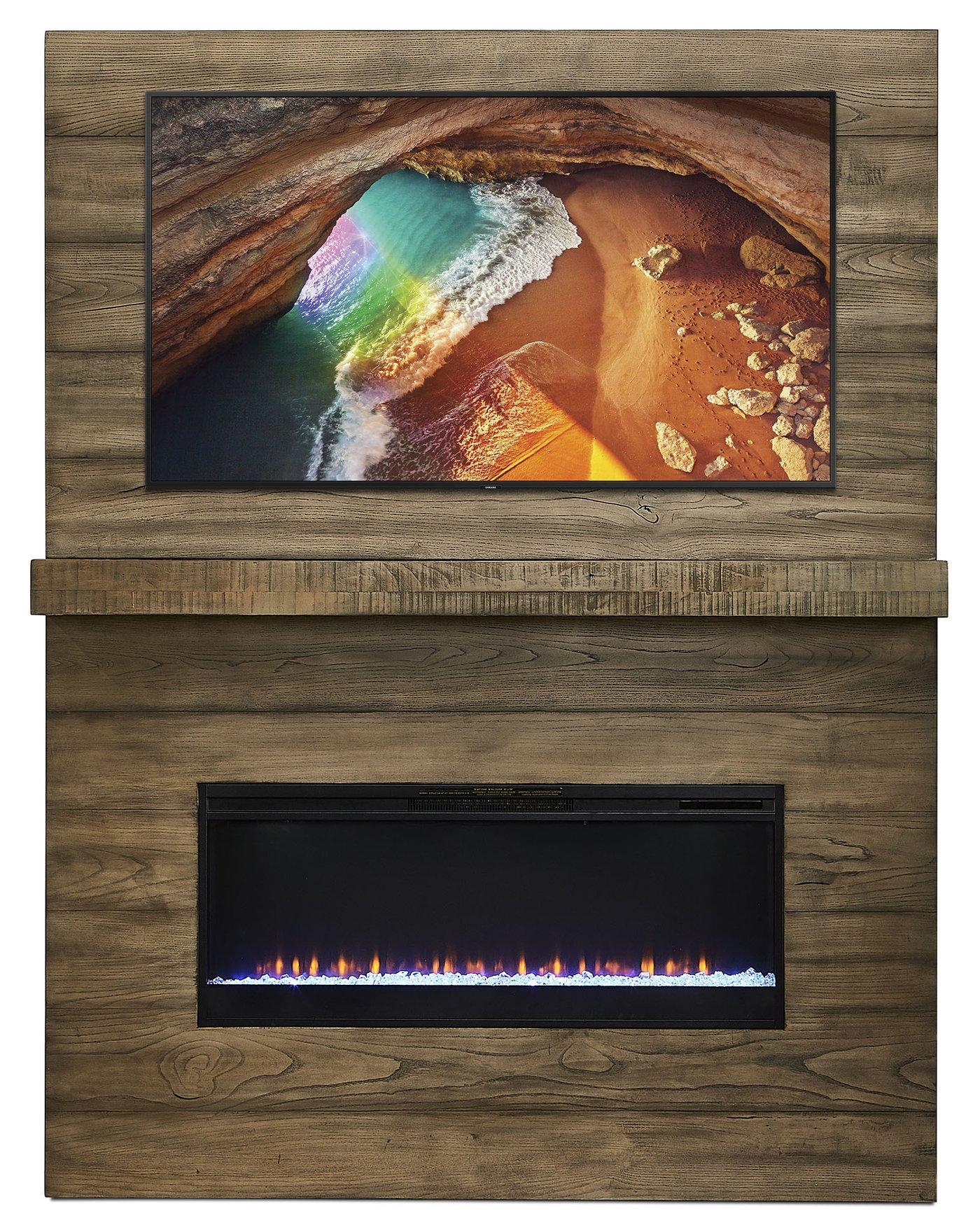 Fireplace Wall Unit Luxury Canizares Unité Murale 4 Mcx Avec Foyer Cendré