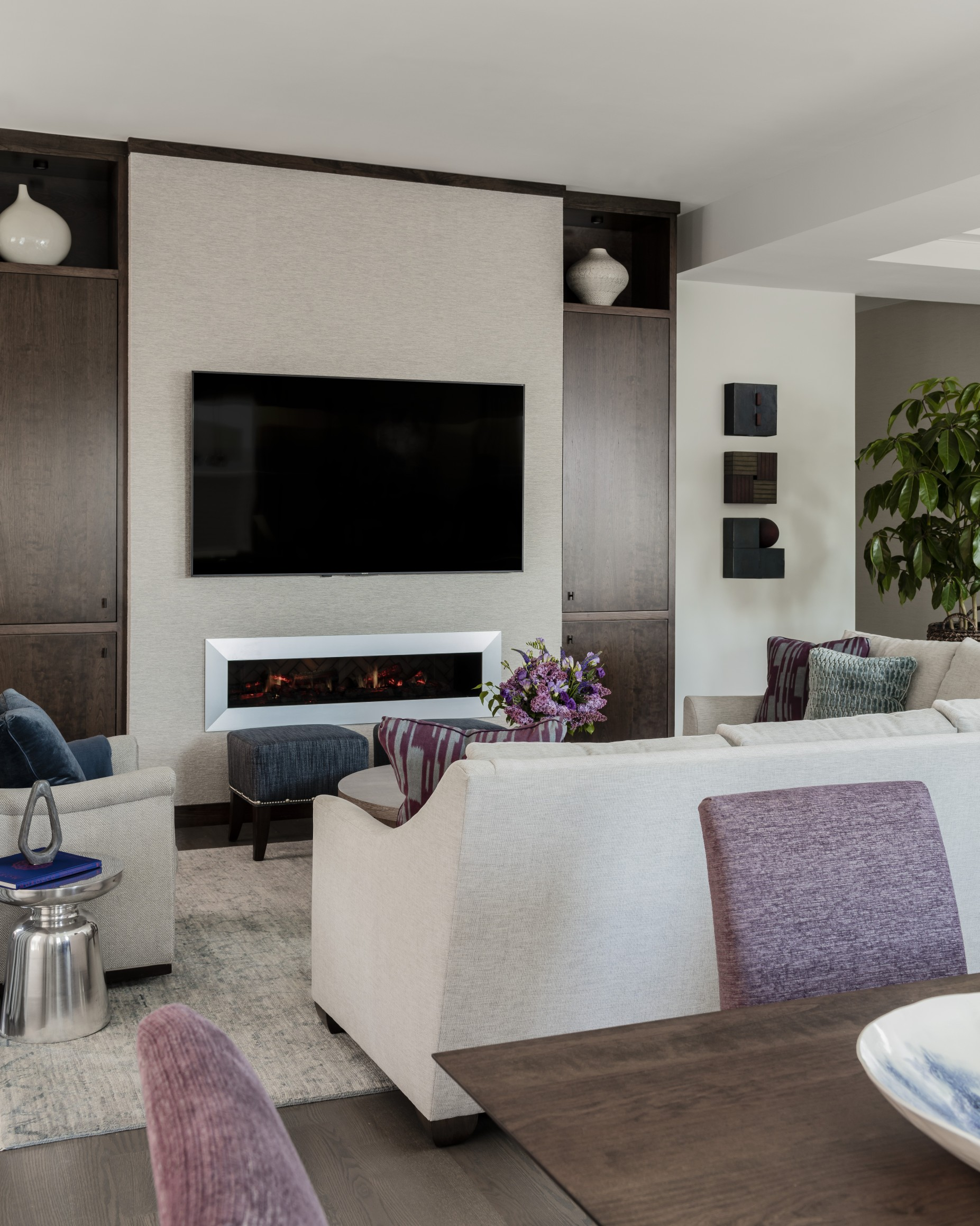 Fireplace Wall Unit Luxury Daher Interior Design