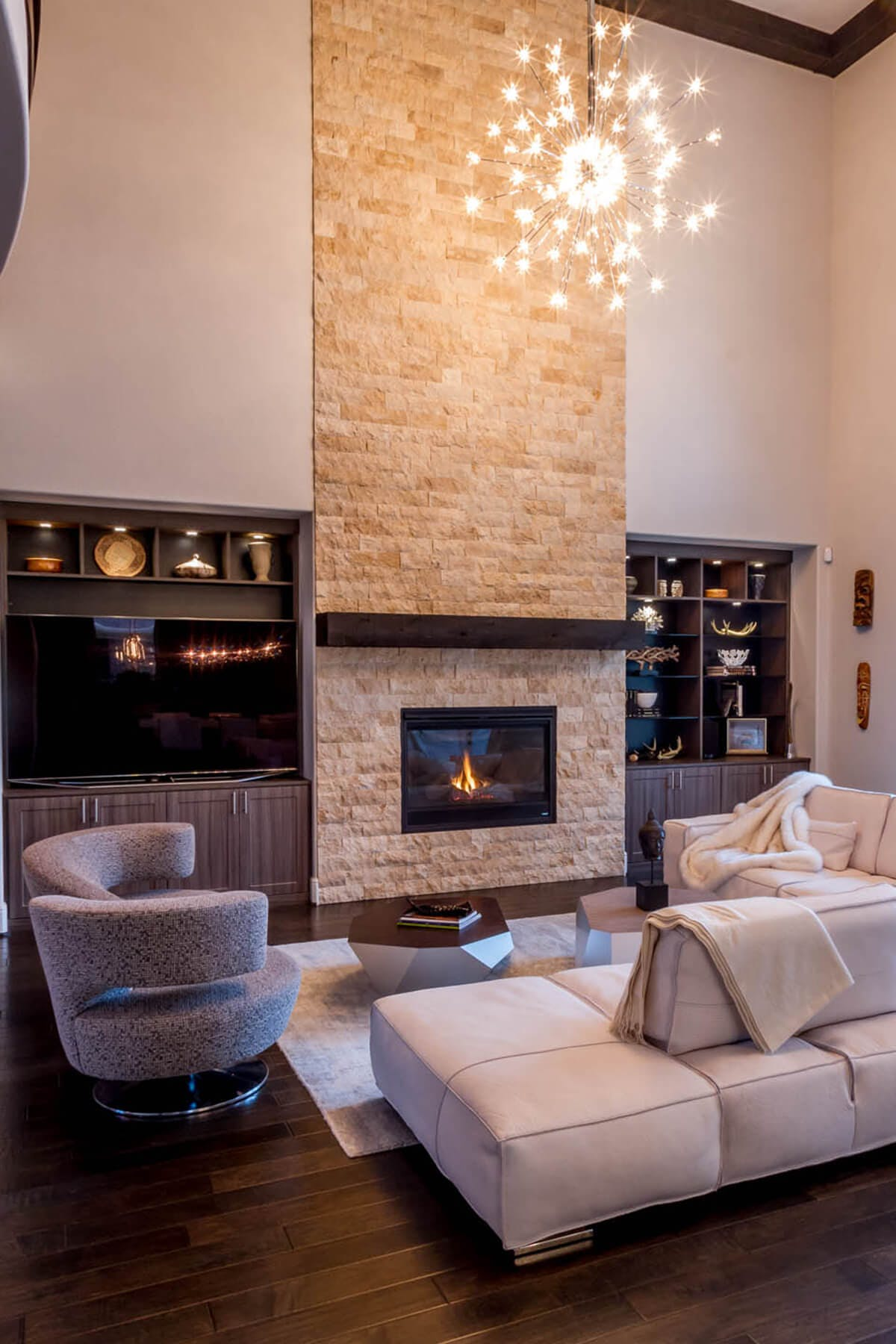 Fireplace Wall Unit Unique Entertainment Centers Custom Built In Cabinets