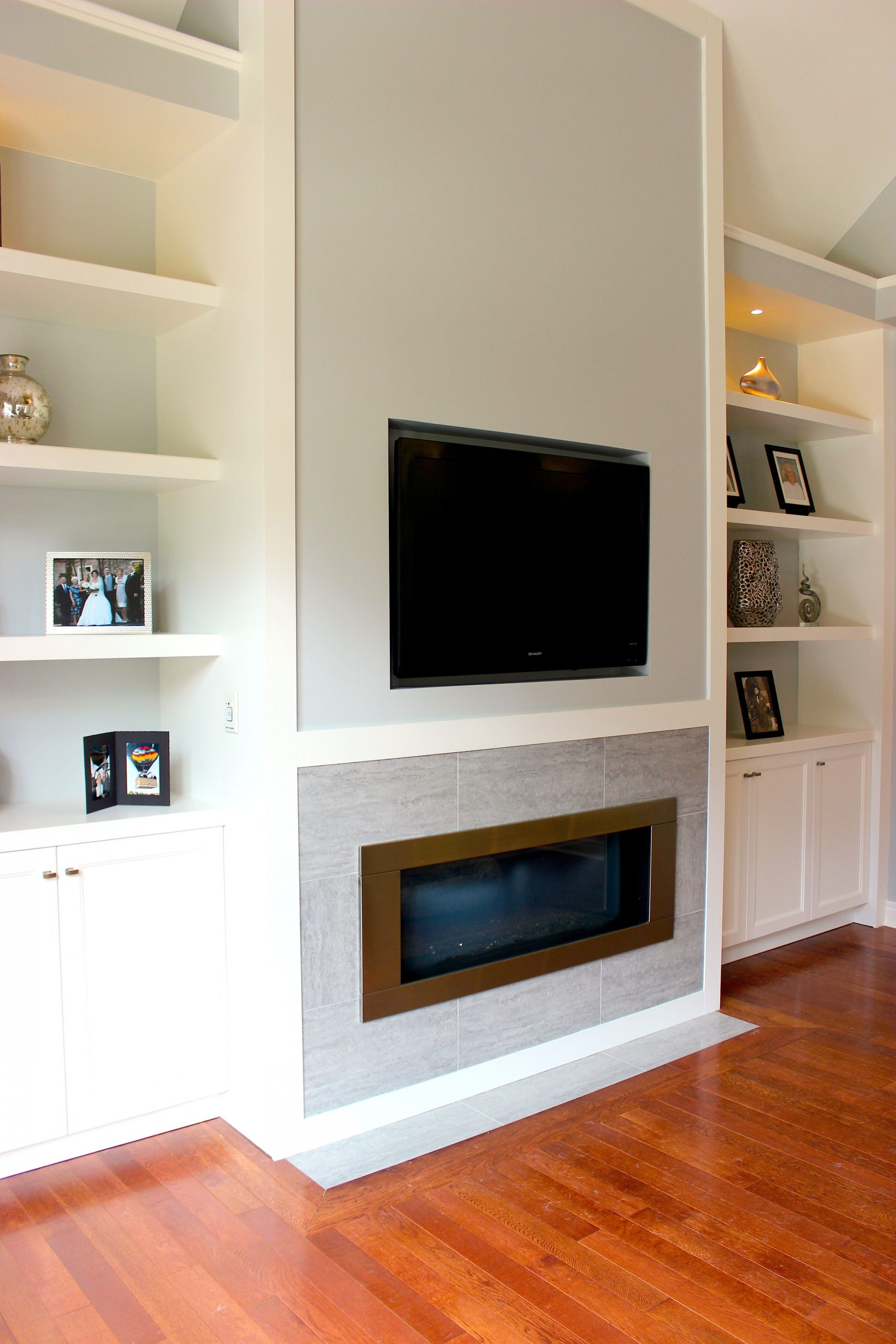Fireplace Wall Unit Unique White Living Room Wall Unit with Built In Television and Gas