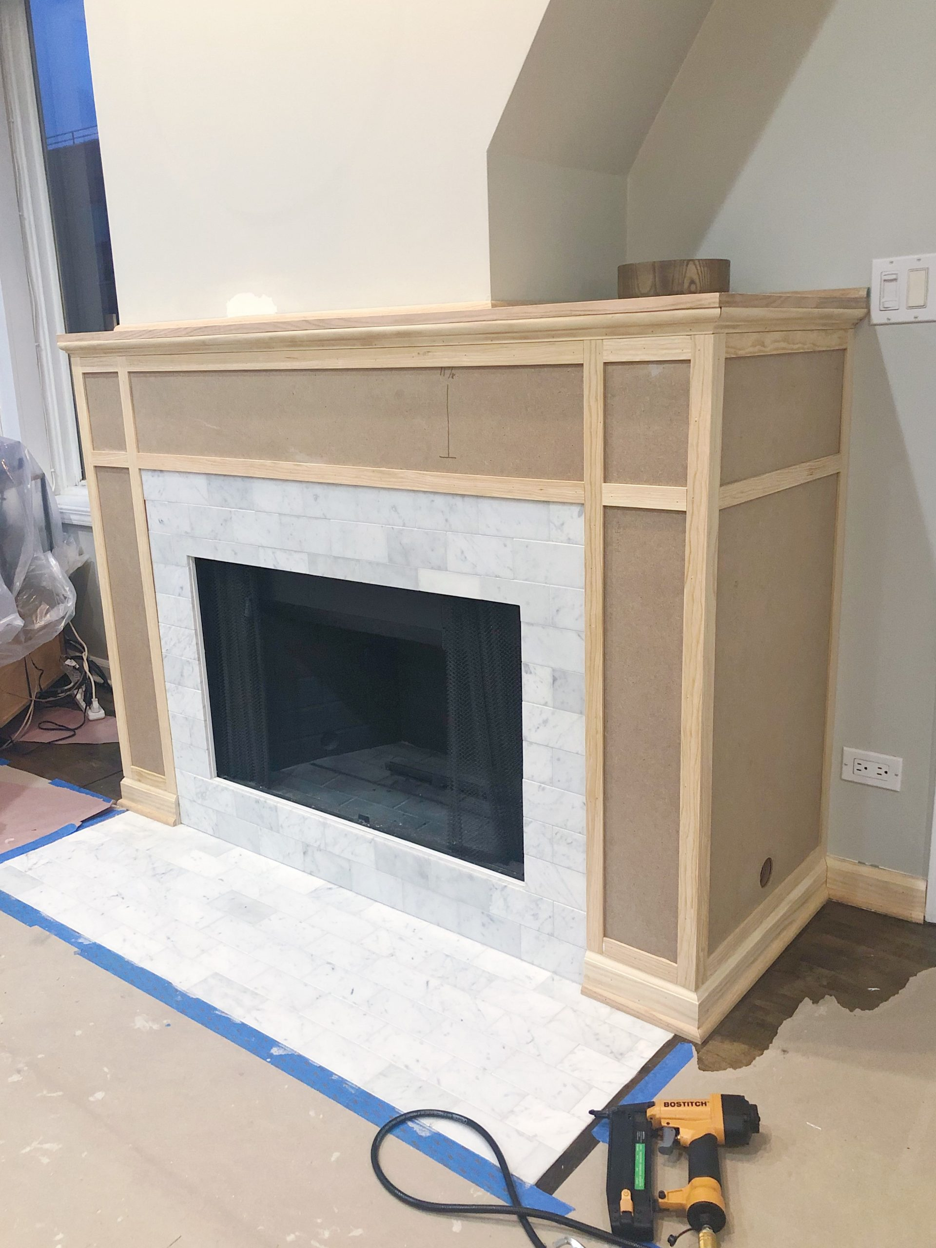 Shaker Fireplace Awesome How to Build A Fireplace Mantle