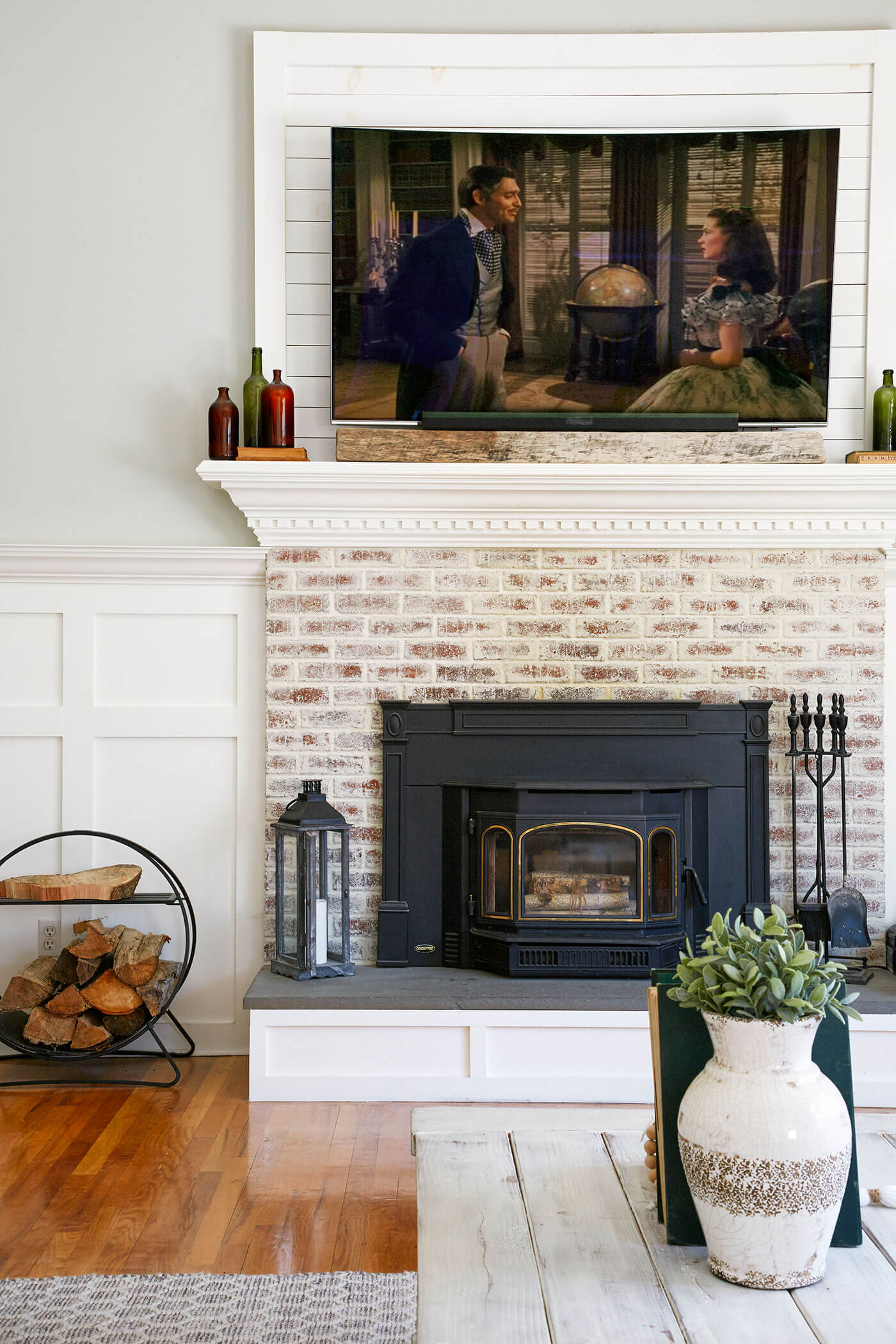 Shaker Fireplace Beautiful How to Do German Schmear American Farmhouse Lifestyle