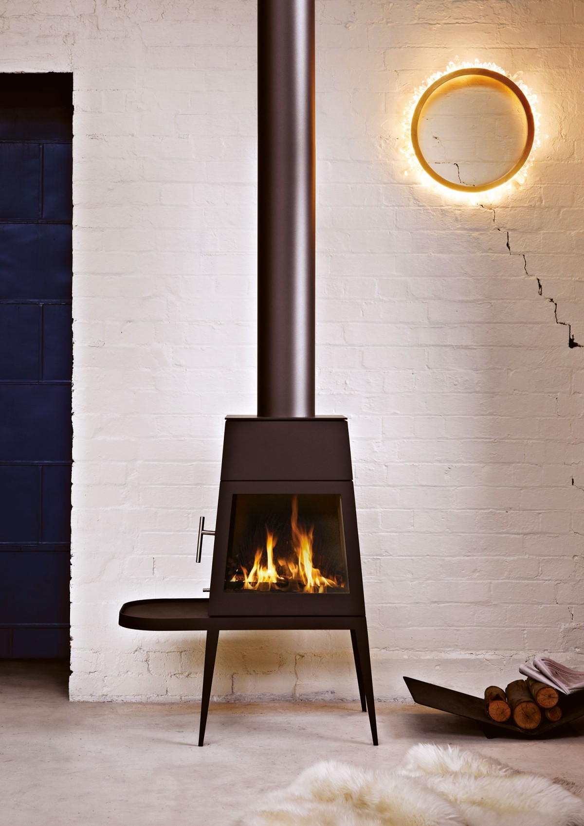 Shaker Fireplace Beautiful Shaker Wood Stove by Antonio Citterio