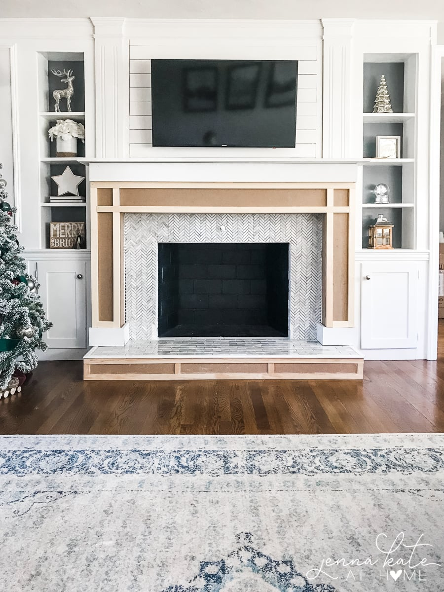 Shaker Fireplace Best Of How to Build A Fireplace Surround Jenna Kate at Home