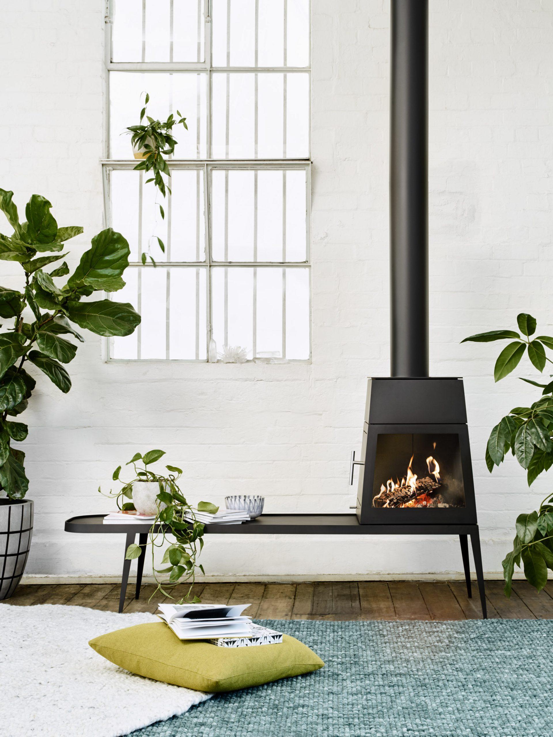 Shaker Fireplace Elegant Shaker Wood Stove by Antonio Citterio