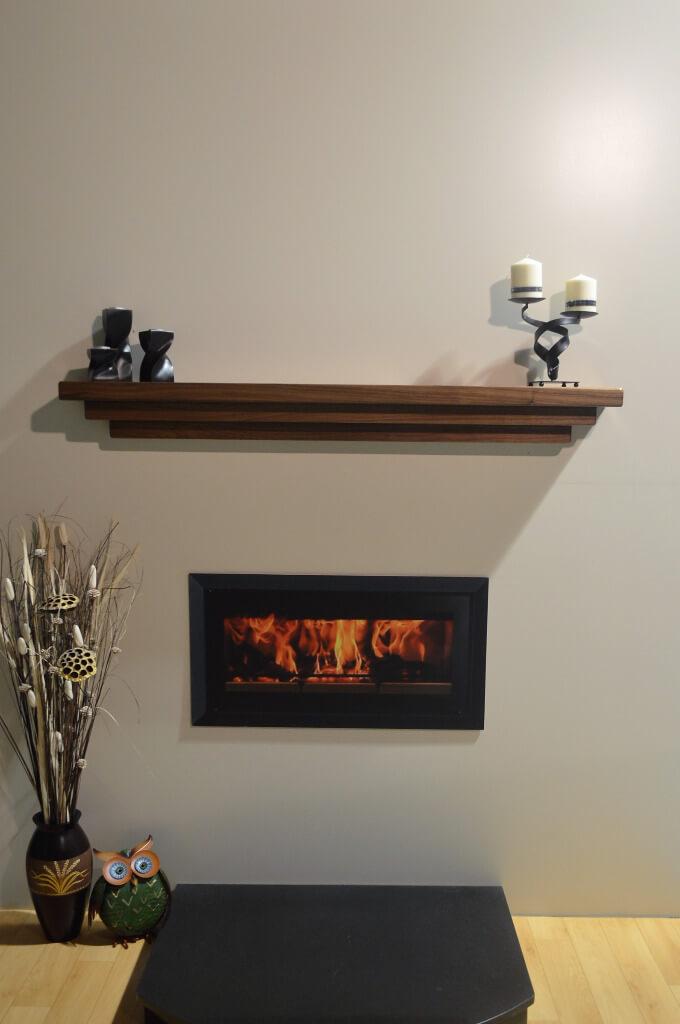 Shaker Fireplace Luxury Walnut Shaker Style Mantel Galway Mulrooney Joinery Ltd