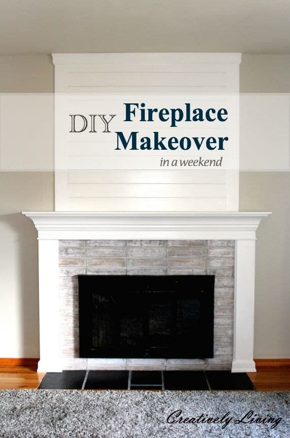 Shaker Fireplace Unique 15 Homey Diy Fireplace Mantels