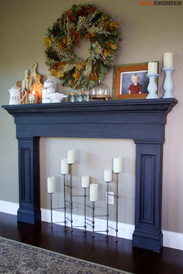 Shaker Fireplace Unique Build A Fireplace Surround Plans