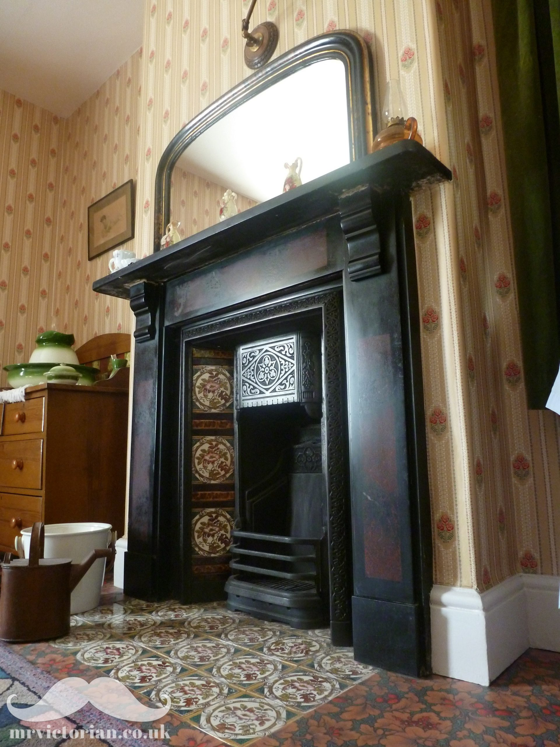 Slate Tiles for Fireplace Awesome top Tips for Reinstating A Victorian Fireplace Mr Victorian