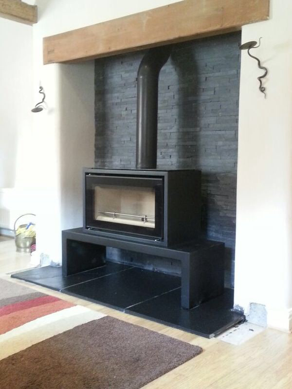 Slate Tiles for Fireplace Best Of Freestanding Fireplaces