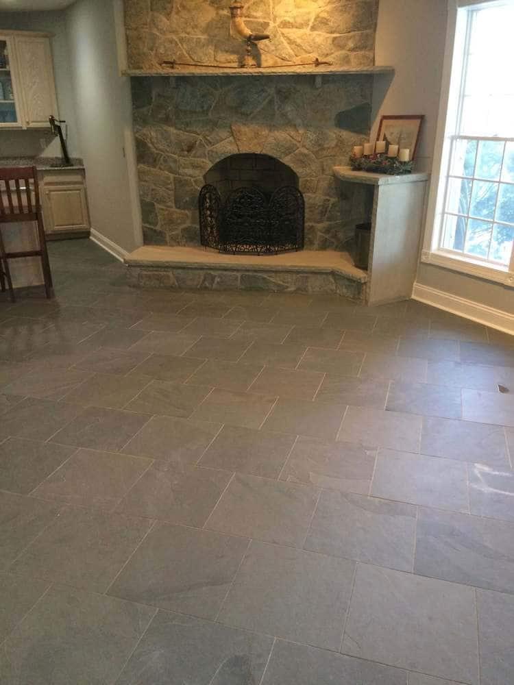 Slate Tiles for Fireplace Elegant Slate Tile