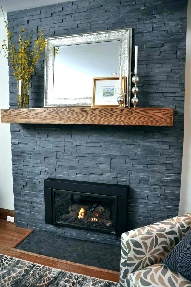 Slate Tiles for Fireplace Inspirational Slate Tile Fireplace Surround – Bikinilove