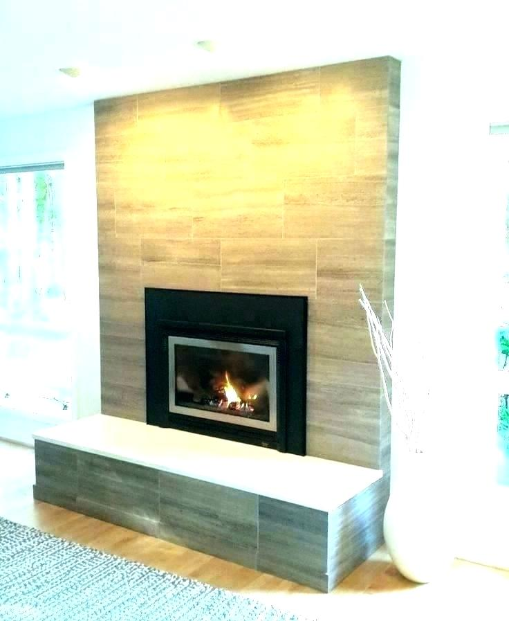 Slate Tiles for Fireplace Inspirational Stacked Stone Tile Fireplace – Znalifo