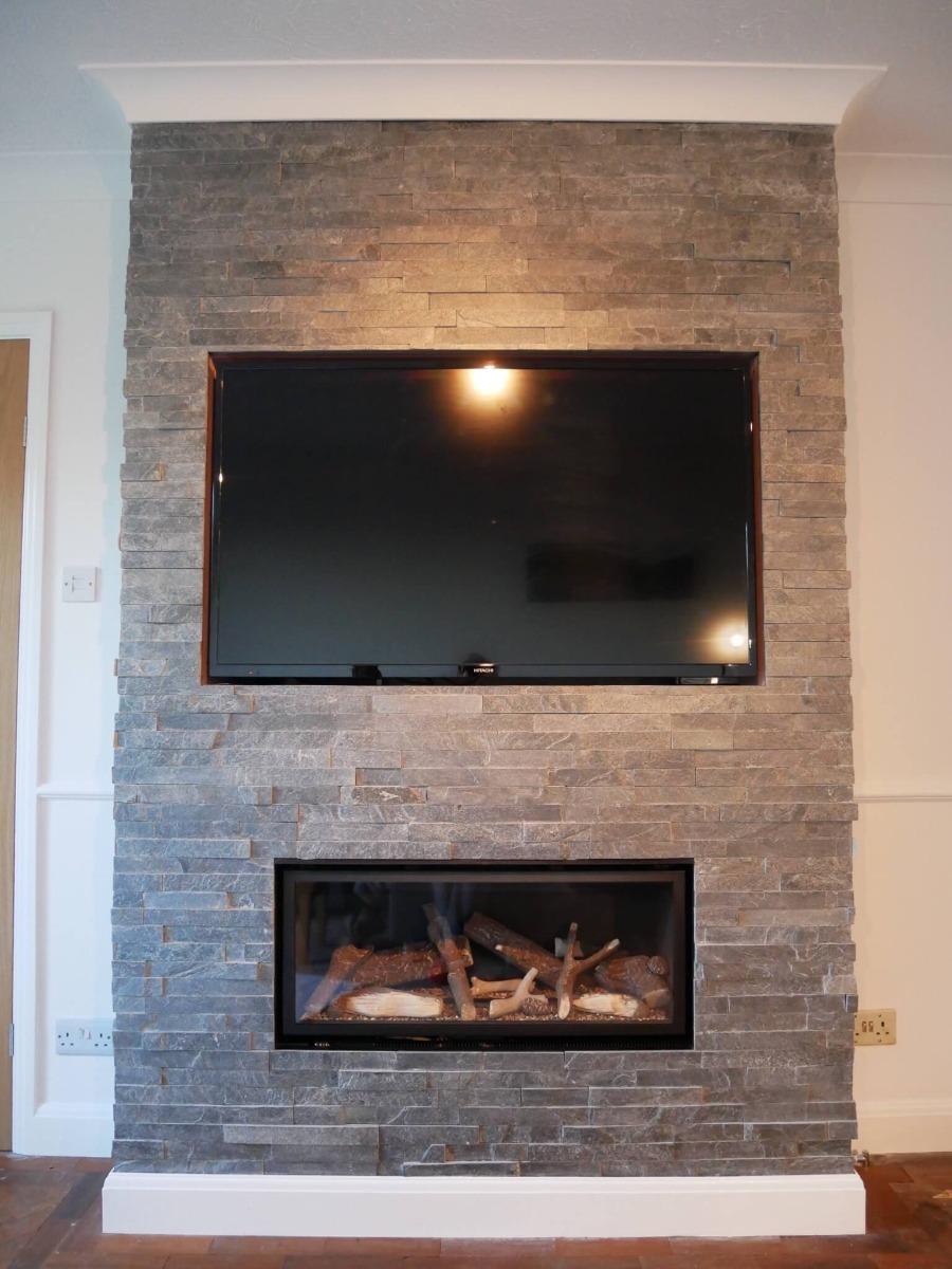 Slate Tiles for Fireplace Lovely the Stone Tile Pany Blog Penny S Transformed Her