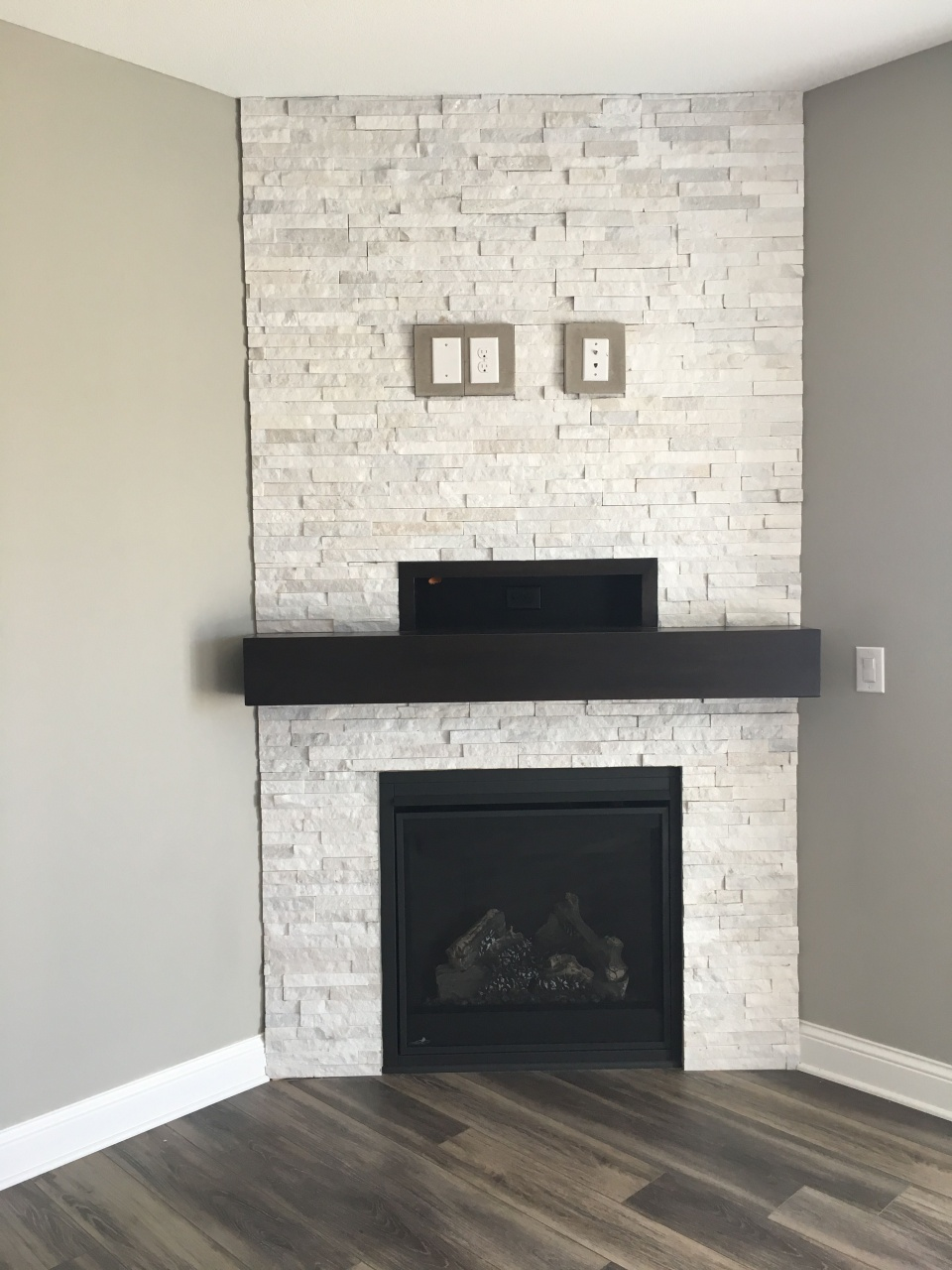 Slate Tiles for Fireplace New Fireplace Hearth Ideas with Tiles or Slate Pin