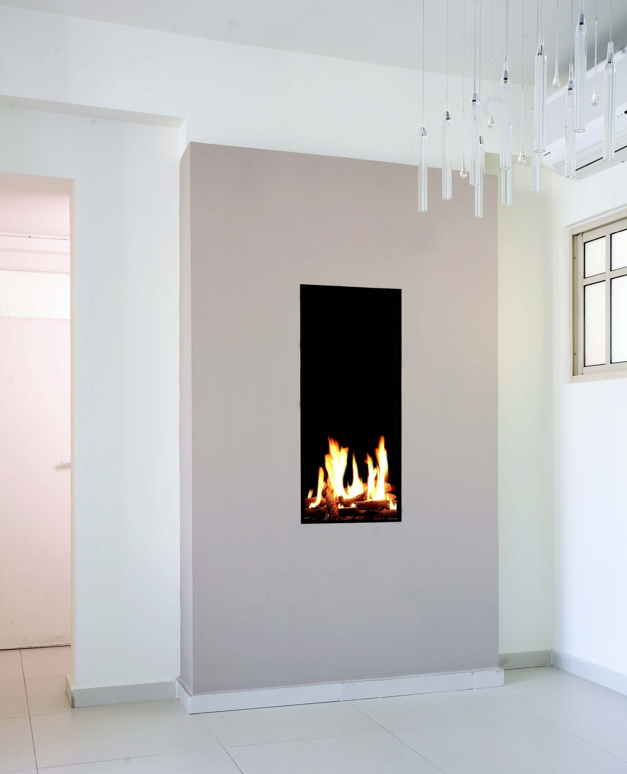 Wall Mounted Natural Gas Fireplace Fresh Tall & Narrow Gas Fireplace Created by ortal with Images