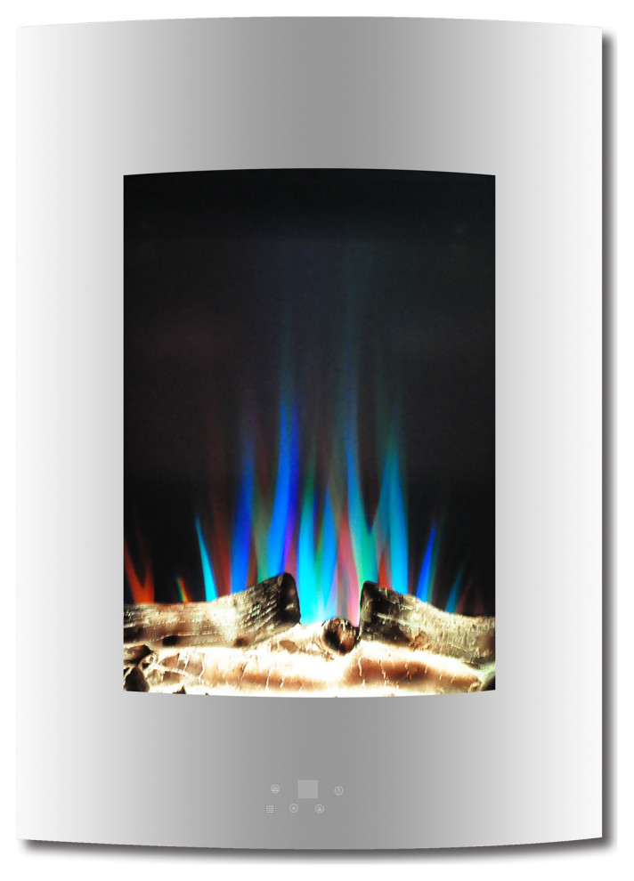 """Wall Mounted Natural Gas Fireplace Inspirational 19 5"""" Vertical Electric Fireplace White"""