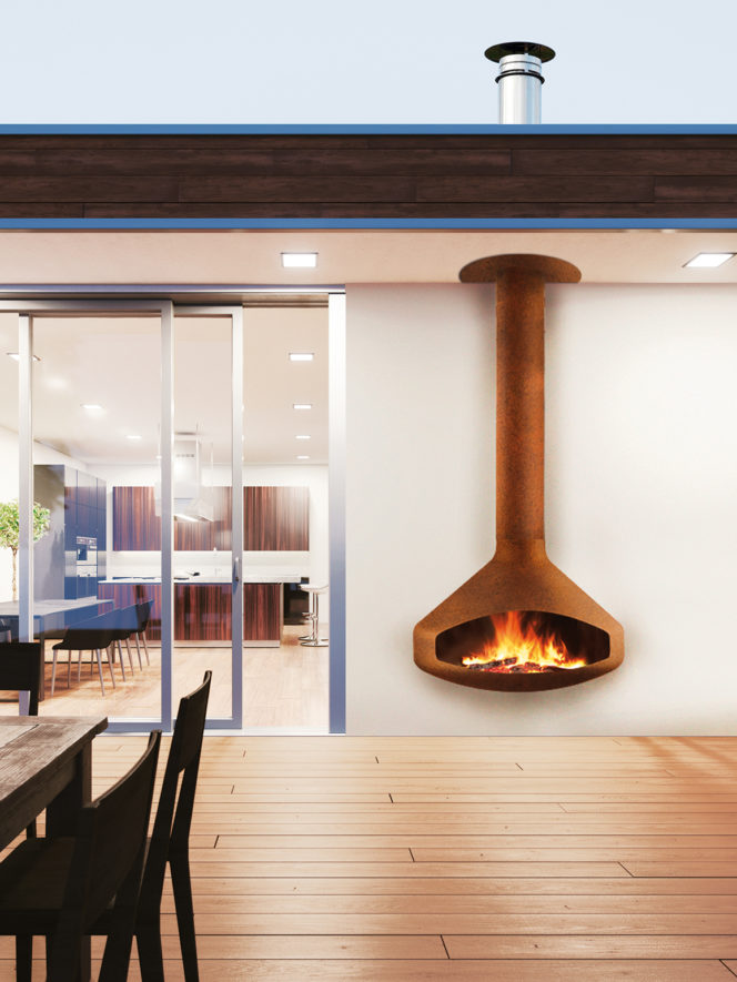 Wall Mounted Natural Gas Fireplace Lovely Paxfocus Outdoor by Focus Fires