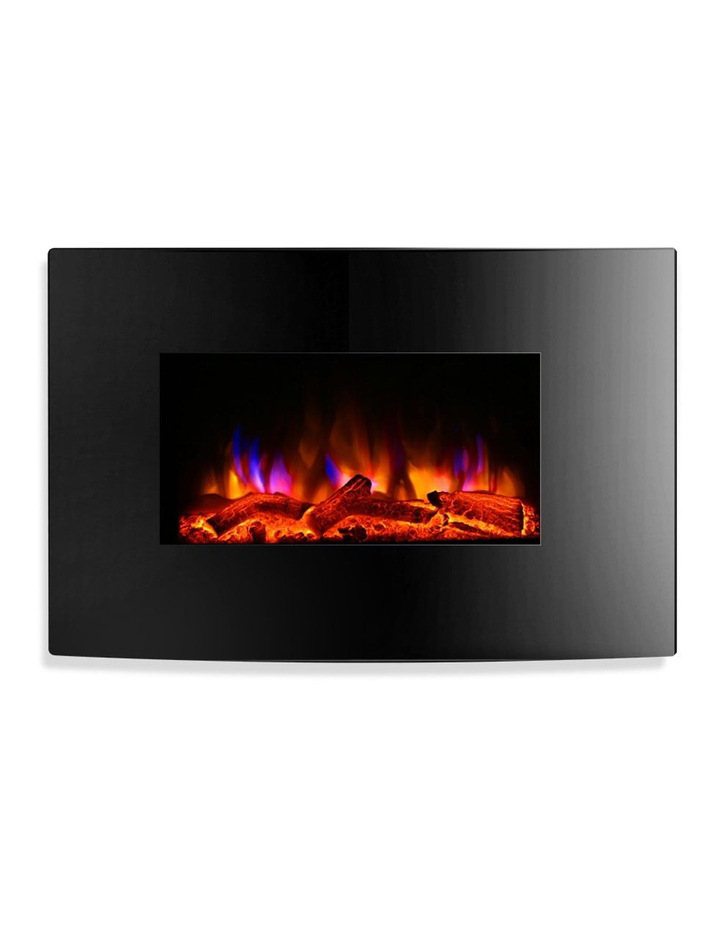 Wall Mounted Natural Gas Fireplace Luxury Devanti Devanti 2000w Wall Mounted Electric Fireplace Fire Log Heater Realistic Flame