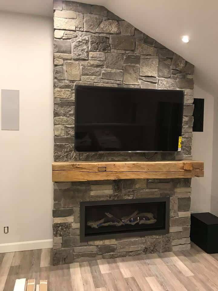 Wall Mounted Natural Gas Fireplace Luxury Mounting Your Tv Your Fireplace Safe Home Fireplace