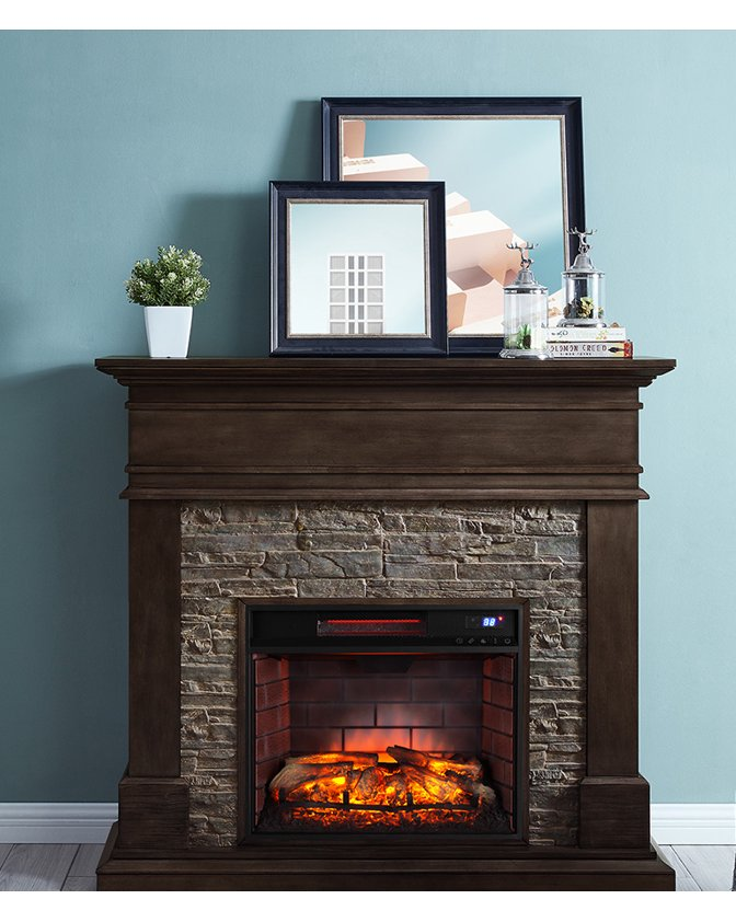 Wall Mounted Natural Gas Fireplace New Fireplaces Walmart Walmart