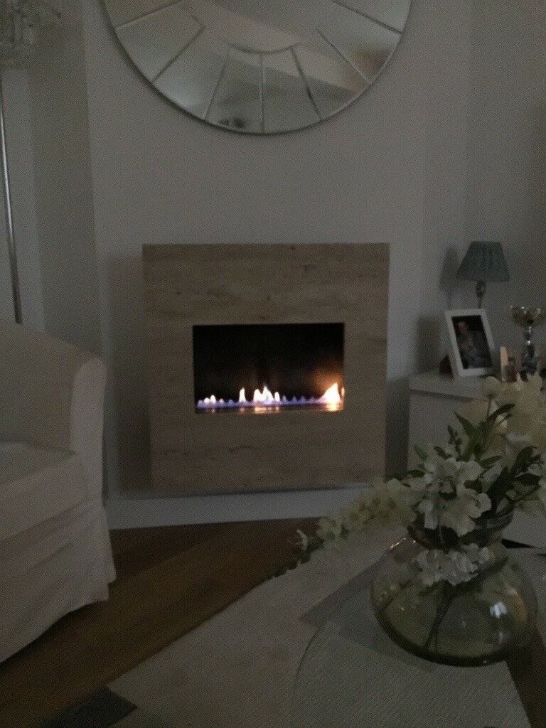 Wall Mounted Natural Gas Fireplace New Modern Gas Fire No Flue Required In Banbury Oxfordshire
