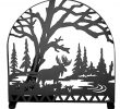 Wayfair Fireplace Screen Awesome Moose Creek Single Panel Fireplace Screen