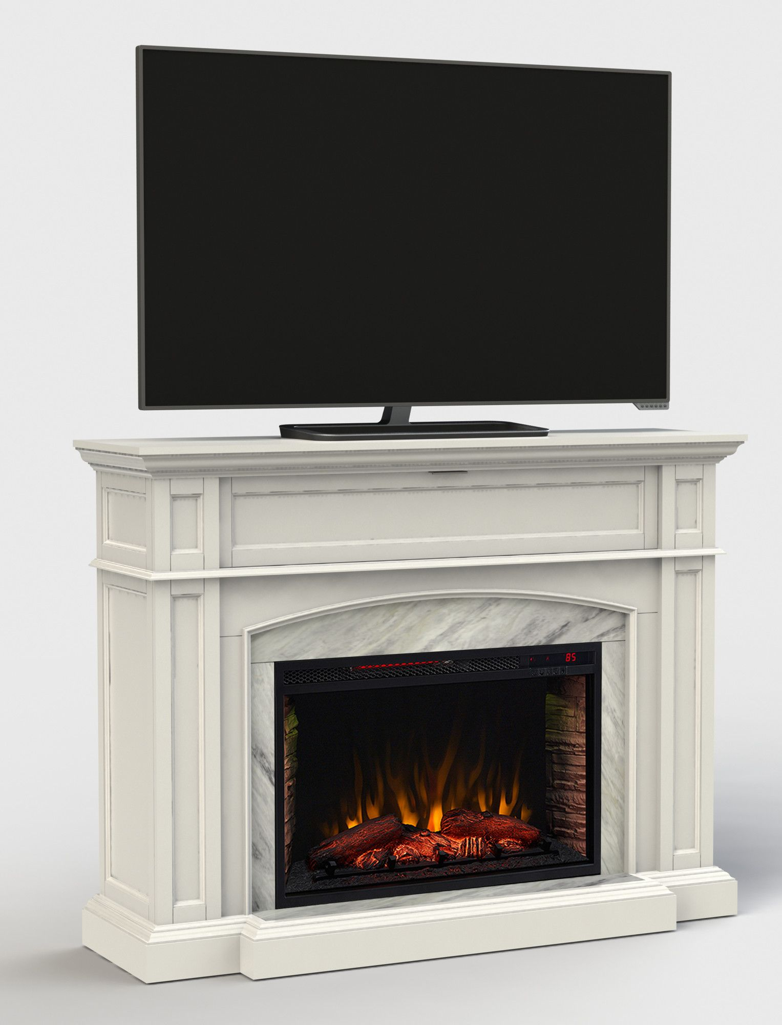 Wayfair Fireplace Screen Unique Tv Stand with Electric Fireplace